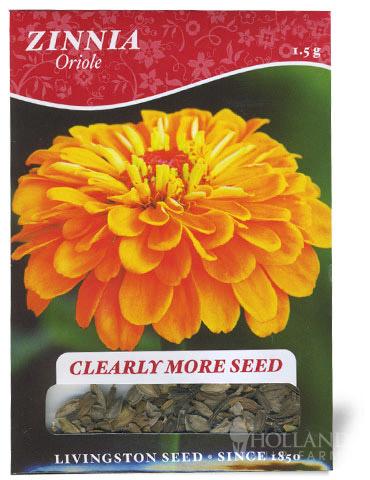 Oriole Zinnia Seeds