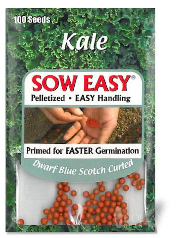 Dwarf Blue Scotch Curled Kale-Sow Easy