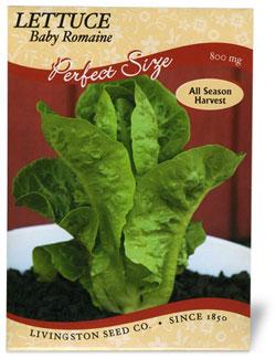 Lettuce Baby Romaine
