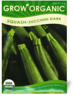 Organic Dark Zucchini Squash