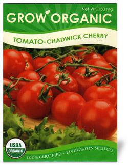 Organic Cherry Tomato Seeds Chadwick